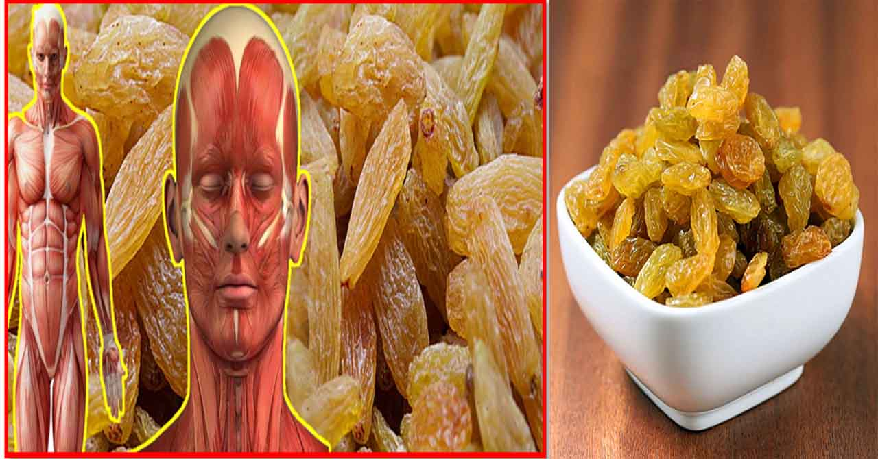 health benefits of eating dry grapes
