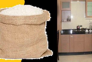 Putting rice in this corner of the cooking house will never be short of cereals!